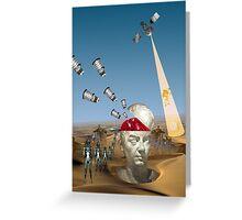 I've got Dalek's on my mind Greeting Card