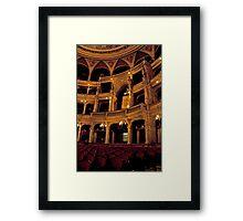 Hungarian State Opera House Framed Print