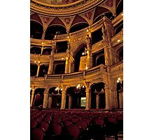 Hungarian State Opera House Photographic Print