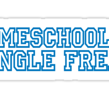 Mean Girls - Homeschooled Jungle Freak Sticker