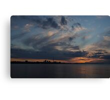 Toronto Sunrise Canvas Print