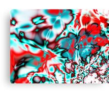 Blood and Bruises - Help Stop Domestic Violence Canvas Print