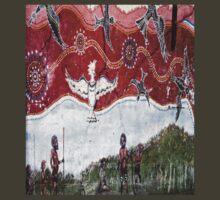 Aboriginal Art.Street Art. 3 T-Shirt