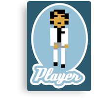 Player Canvas Print