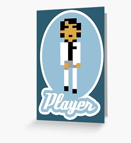 Player Greeting Card