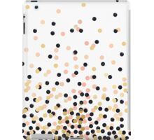 Pink & Black Polka Dots iPad Case/Skin