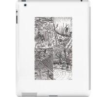 B&W Samurai Noir  iPad Case/Skin