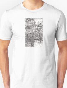 B&W Samurai Noir  Unisex T-Shirt