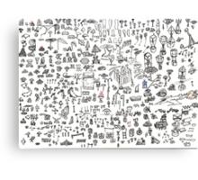 Brainstorming 5-26-2013 - 6-4-2013 Canvas Print