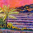 technicolor rice field by moguesy