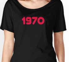 1970 - Born in the seventies - T-shirt Sweater & Top Women's Relaxed Fit T-Shirt
