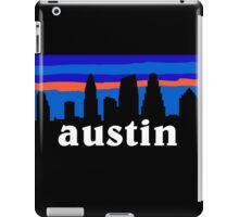 Austin Texas, Skyline silhouette iPad Case/Skin