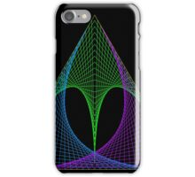 Triangle envelope coloured cold iPhone Case/Skin