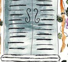 Wisteria Window Treatment Sticker