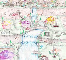 Gnome Village 2 by SteveHanna