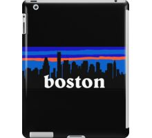 Boston, skyline silhouette iPad Case/Skin