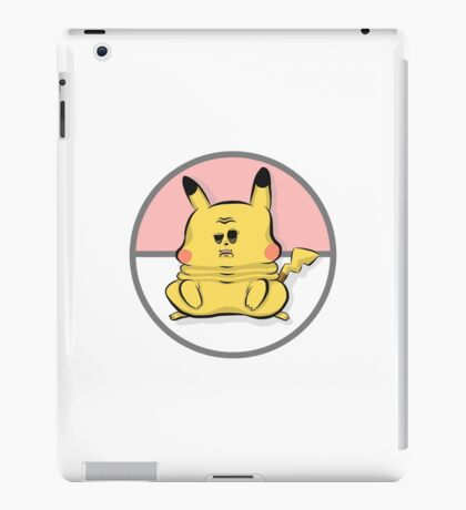 Pokemon - Chubby Pikachu iPad Case/Skin