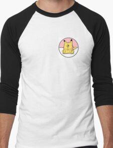 Pokemon - Chubby Pikachu Men's Baseball ¾ T-Shirt