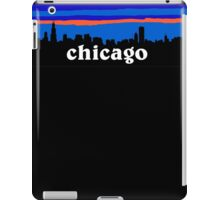Chicago, skyline silhouette iPad Case/Skin