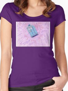 T.A.R.D.I.S. Women's Fitted Scoop T-Shirt
