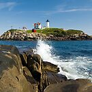 Cape Neddick Light by VLFatum