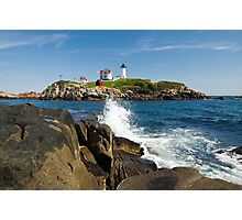 Cape Neddick Light Photographic Print