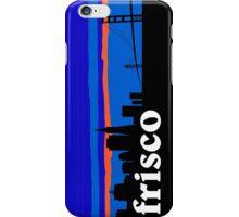 Frisco, skyline silhouette iPhone Case/Skin