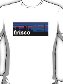 Frisco, skyline silhouette T-Shirt