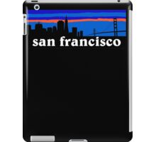 San Francisco, skyline silhouette iPad Case/Skin