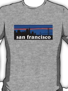 San Francisco, skyline silhouette T-Shirt