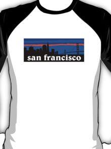 San Francisco, skyline silhouette T-Shirt