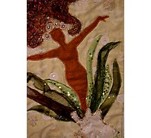 Wabi Sabi Woman Photographic Print