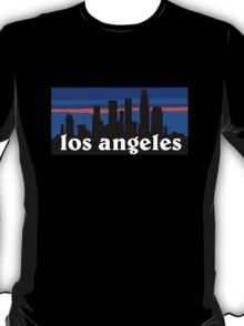 Los Angeles, skyline silhouette T-Shirt