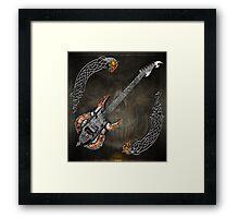 Celtic Warrior Guitar 2.0 Framed Print