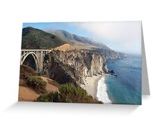 Coastal Fog Lifting Greeting Card