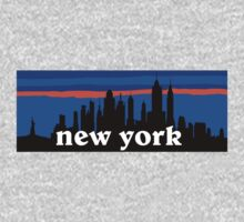 New york, skyline silhouette T-Shirt