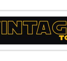 Vintage Toys Logo in STAR WARS style Sticker