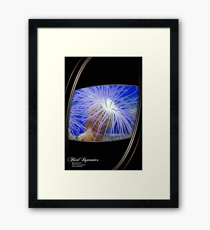 life in sea Framed Print