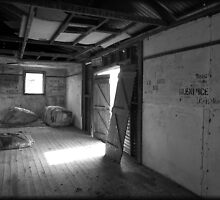 Old shearing shed by tinyteddy2