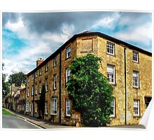 Historic Chipping Campden.  Poster