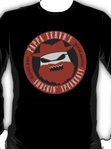 Angrybot: Pappa Servo's T-Shirt