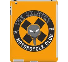 Angrybot: The Deleted Motorcycle Club iPad Case/Skin