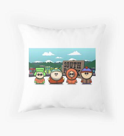 South Park Tubbies. Throw Pillow