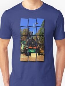 Historic steam train, abandoned | transportation photography T-Shirt