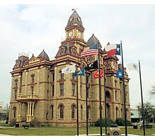 Caldwell Co. Courthouse, Lockhart, Tx. 1894 Photographic Print