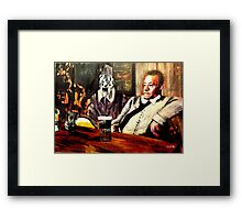 Drinks With Friends Framed Print