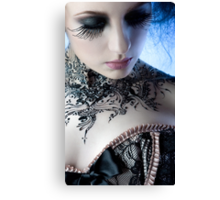 Black Lace - Ulorin Vex Canvas Print