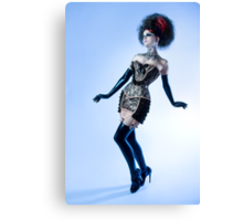 Black Lace - Ulorin Vex Canvas Print