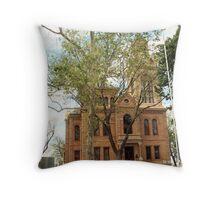 Llano Co. Courthouse, Llano, Tx. 1892 Throw Pillow