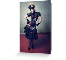 Viktoria Modesta - Dark Doll Greeting Card